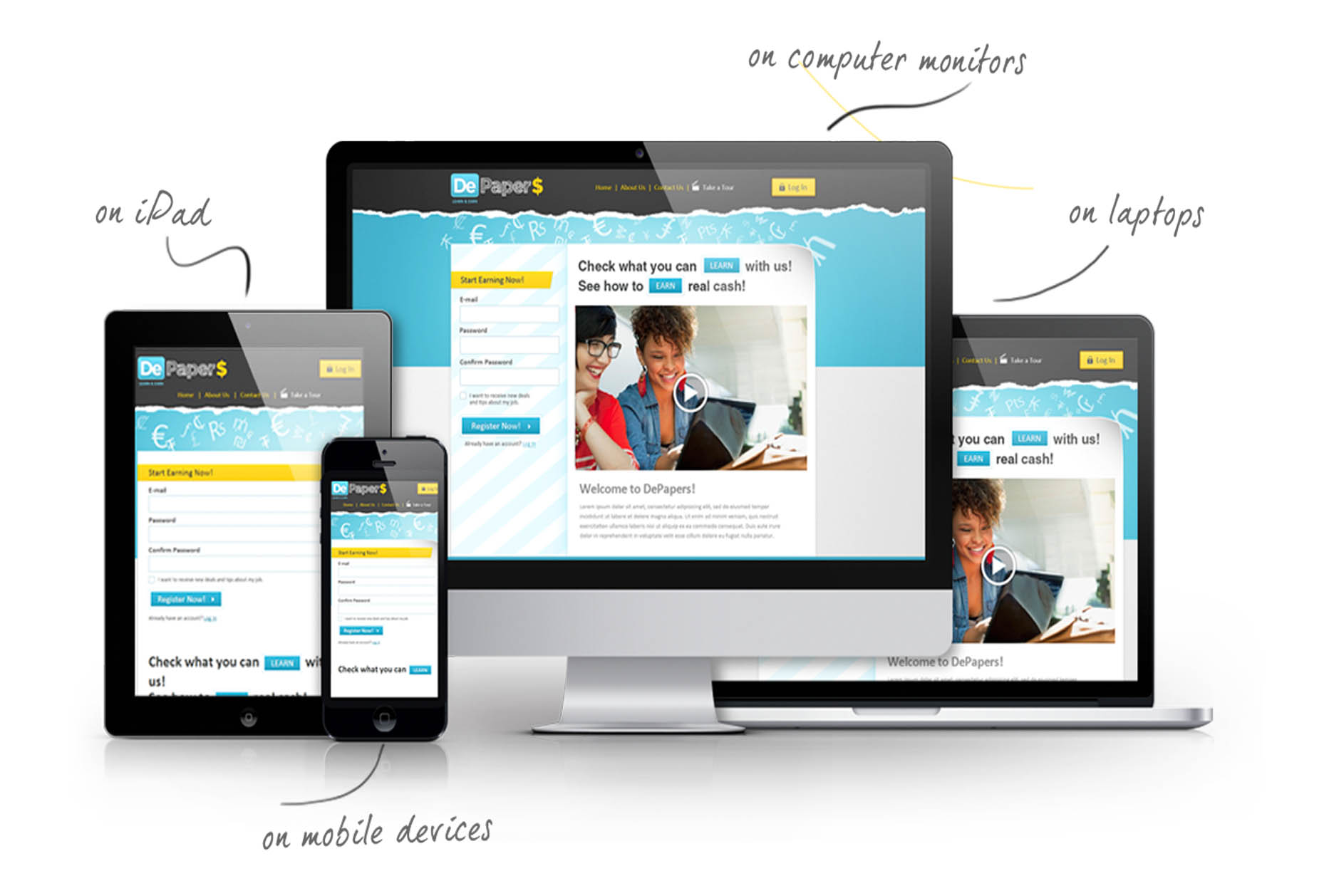 Responsive Website Design & Development in Jaipur