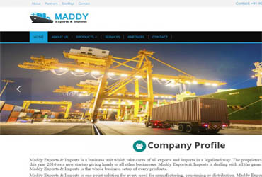 Maddyexim.co.in